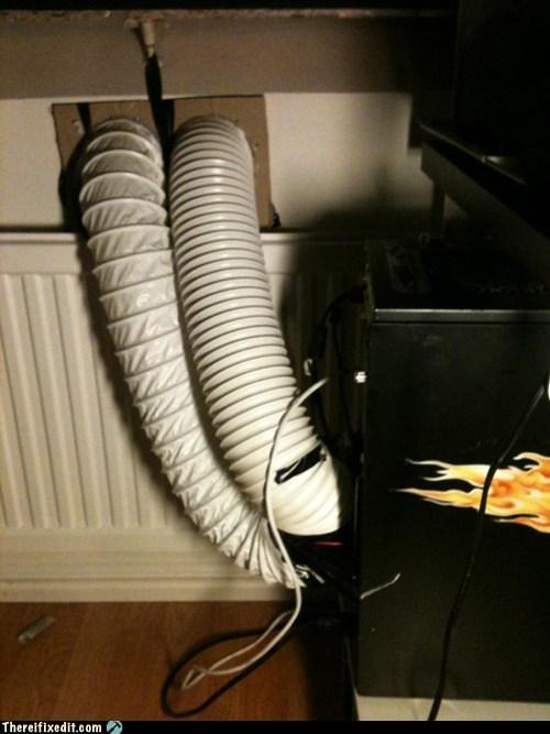 air duct cooling desktop fan - 5984893440