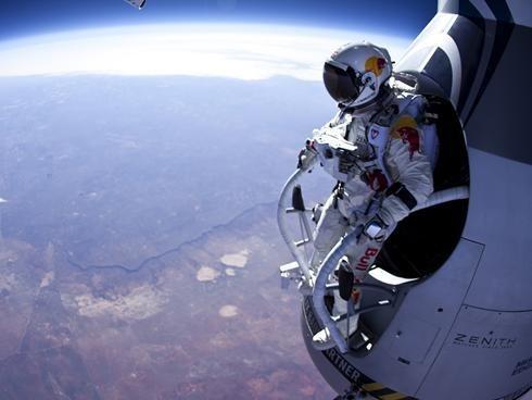 daredevil,felix baumgartner,Nerd News,space jump