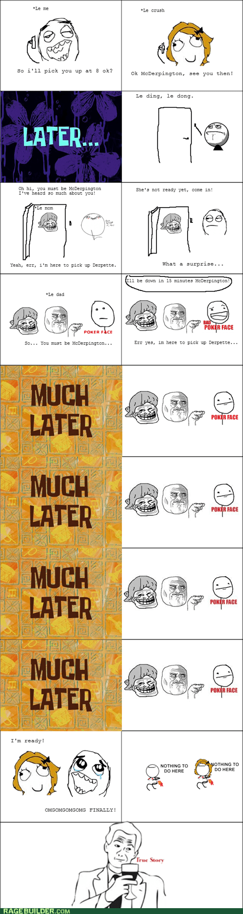 meeting the parents,nothing to do here,Rage Comics,relationships