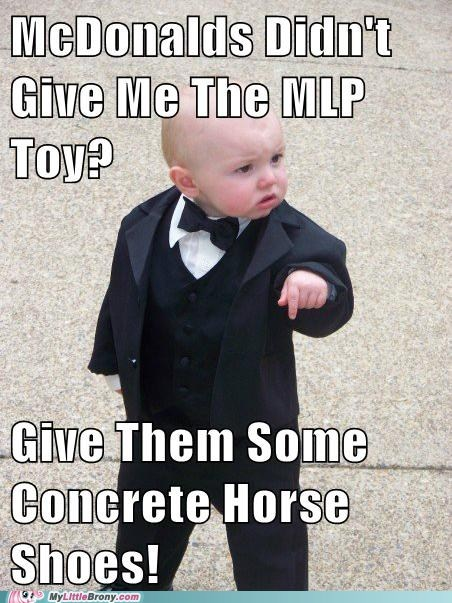 Baby Godfather concrete McDonald's meme toys transformers - 5985164544