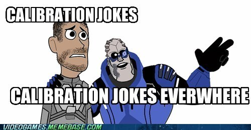 calibrations Garrus jokes mass effect meme shepard video games - 5985257984