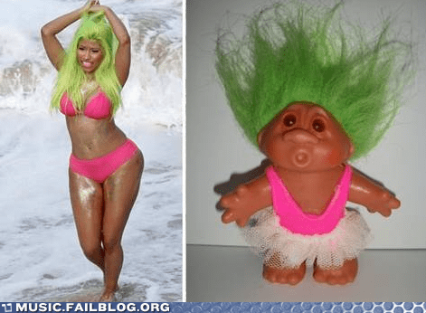 nicki minaj,pop,troll