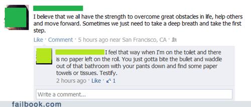 gross poop toilet paper touché - 5985400320