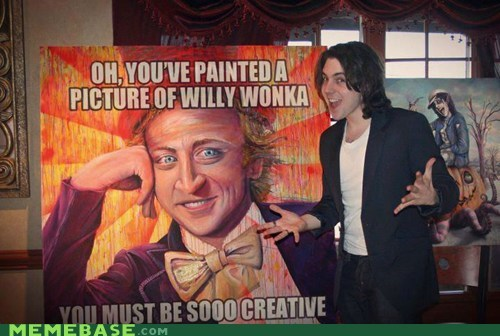 creative,meta,The Internet IRL,Willy Wonka