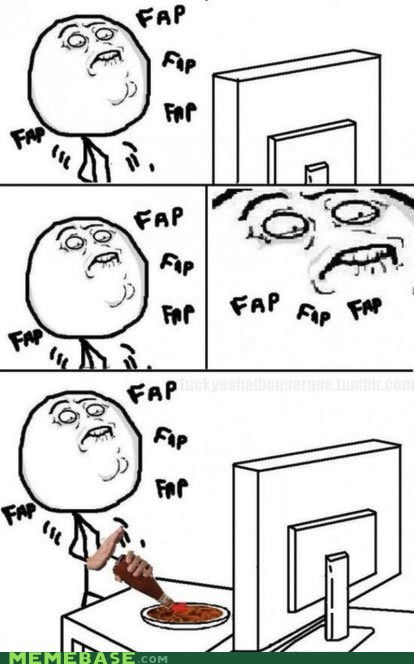 fap ketchup meme madness Rage Comics trick - 5985579008