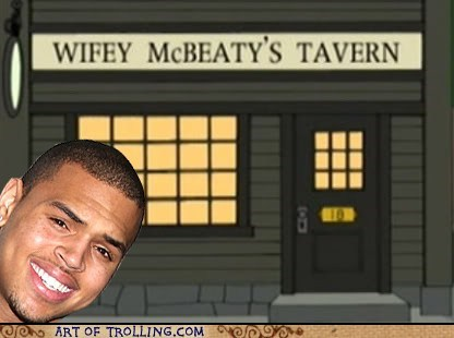 Where Chris Brown will celebrate St. Pat's.