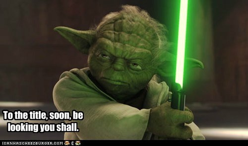 attack of the clones,looking,star wars,title,told you,troll,yoda