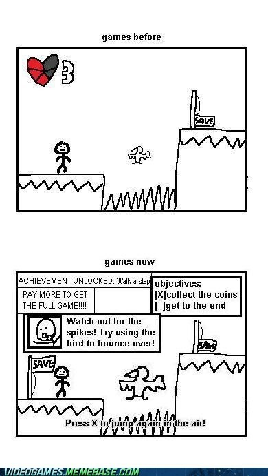 achievements,Before And After,comic,cutscene,nostalgia,so much filler