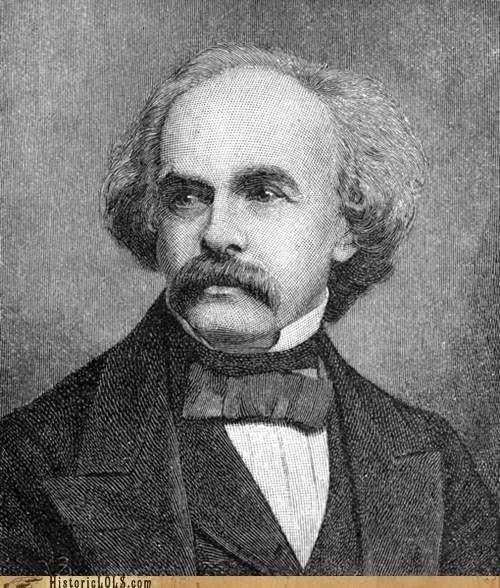 art,author,history,illustration,nathaniel hawthorne,This Day In History