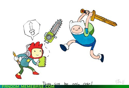 adventure time cartoons Fan Art scribblenauts video games - 5985961216