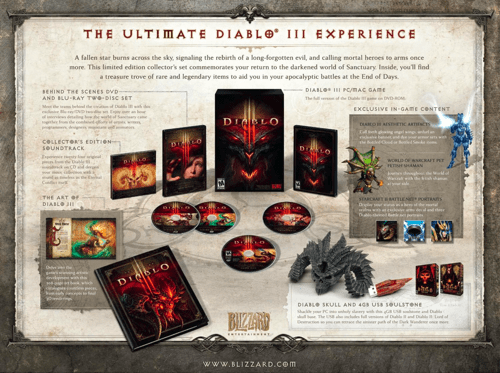 blizzard,collectors-edition,diablo III,video games