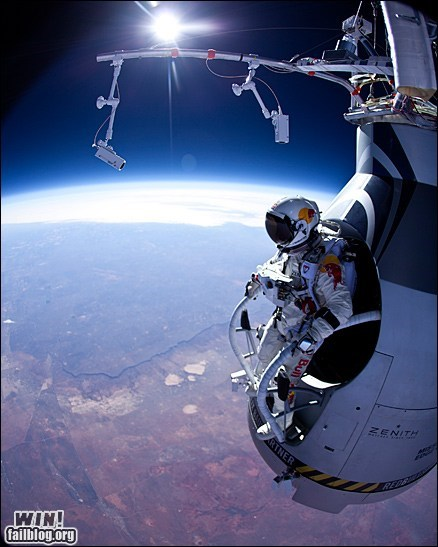 extreme photography skydiving space stunt whee - 5986139648