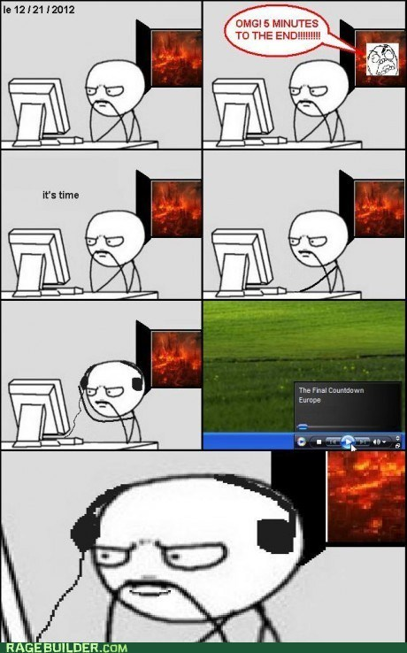 best of week,end of the world,Music,Rage Comics,the final countdown