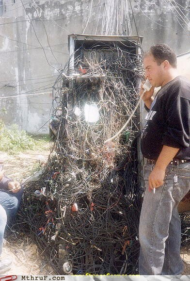 call lines mess phone rats-nest wires wtf - 5986288384