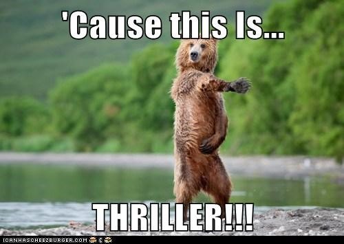 bear,dancing,michael jackson,singing,thriller,wrong