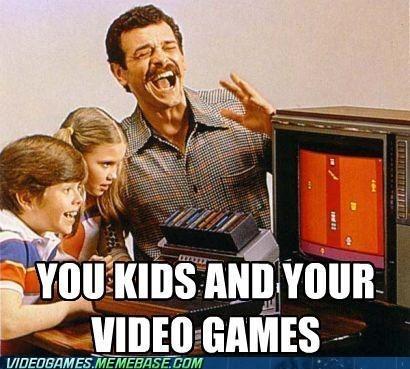 atari bunch of fun the internets video games you kids - 5986551296