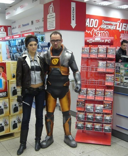alyx vance cosplay gordon freeman half life valve video games - 5986572032