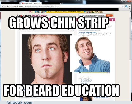 beard chin strip hair misunderstood mitch - 5986737152
