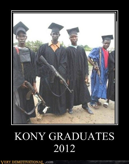 2012 graduates hilarious Kony wtf - 5986763520
