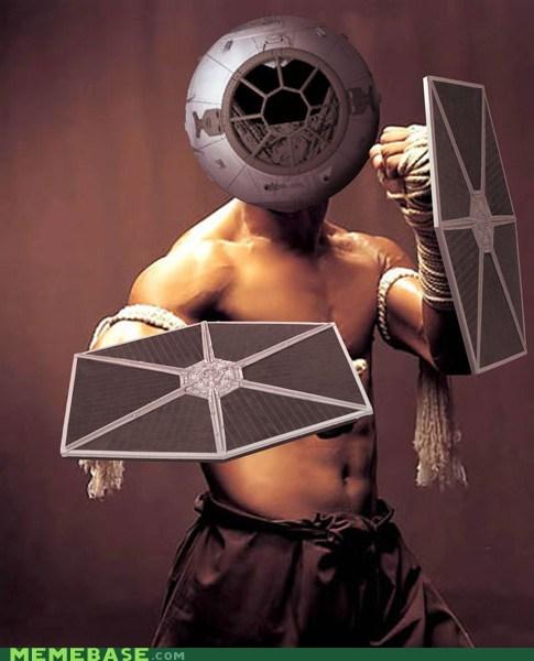crossover Fan Art scifi star wars tai fighter - 5986800640