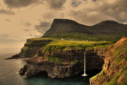 cliffs,coastline,faroe islands,Hall of Fame