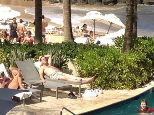 Fun In The Sun,Rick Santorum,Topless Photo