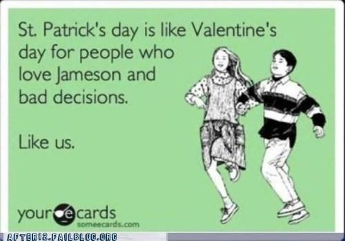 bad decision e card Jameson St Patrick's Day