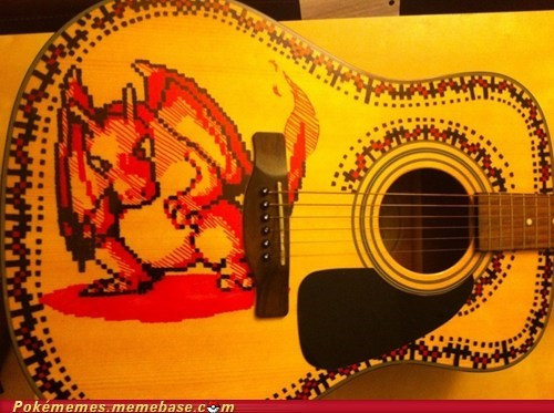 charizard first gen guitar IRL Music - 5987994624
