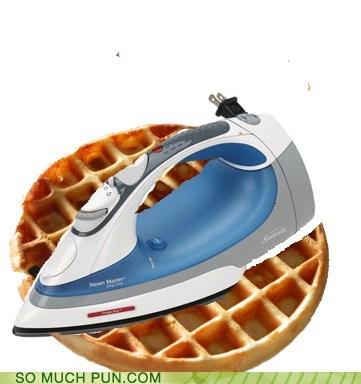 double meaning,iron,literalism,waffle,waffle iron