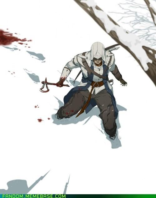 assassin assassins creed Fan Art video games - 5988334080