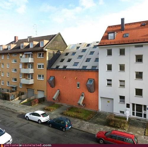 apartment sideways wtf - 5988349696