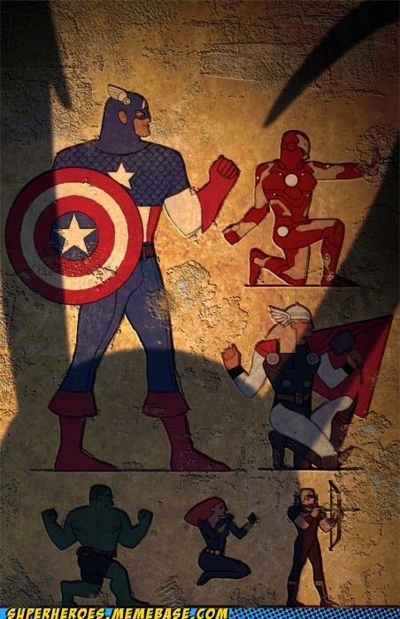 avenger Awesome Art egyptian hieroglyphics - 5988355840