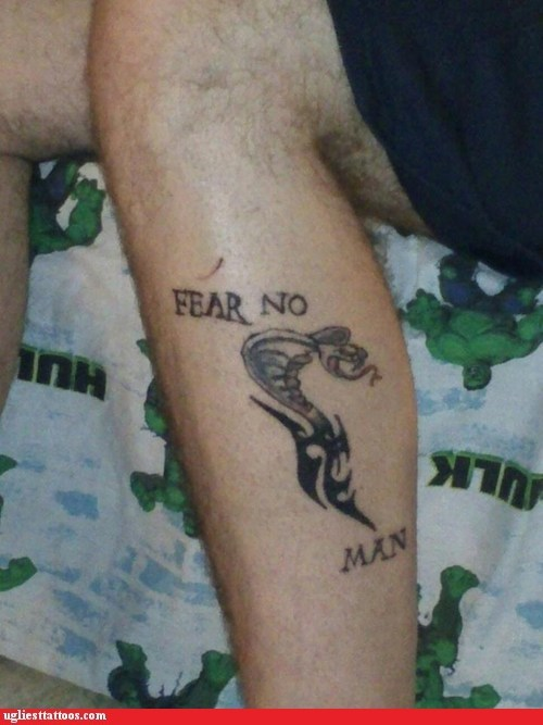 cobras,fear no man,snake tattoos