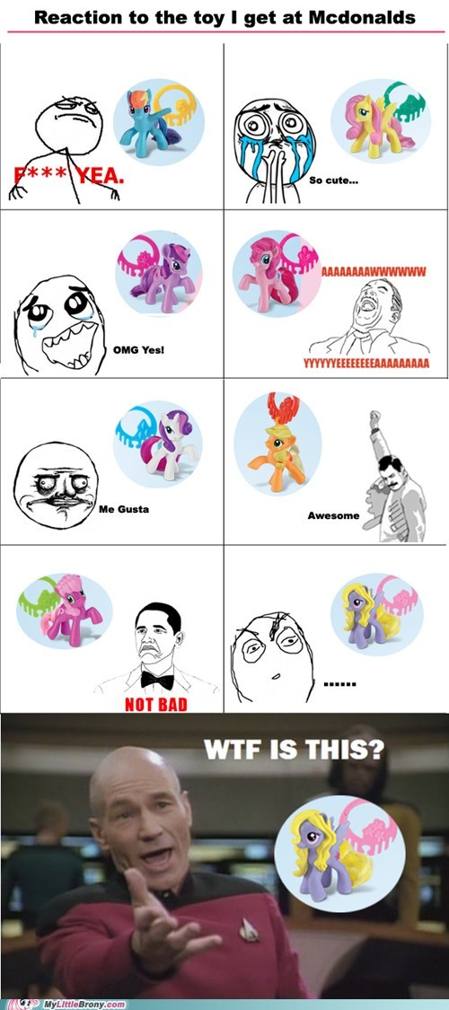 background pony,best of week,disappointment,happy-meal-lily-blossoms,McDonald's,Rage Comics