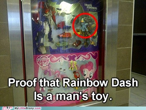 IRL,McDonald's,pinkie pie,rainbow dash,transformers