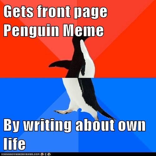 socially awkward penguin - 5988617984