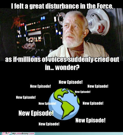 Bronies,new episode,the force,TV