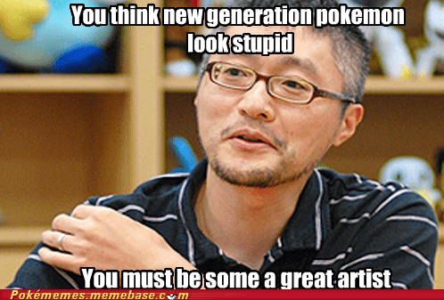 artist condescending wonka creator crossover ken sugimori Memes - 5989407488