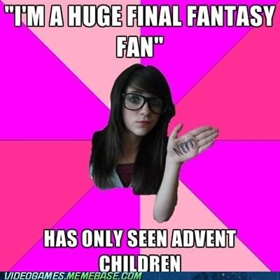 Advent Children final fantasy meme spirits within - 5989650688