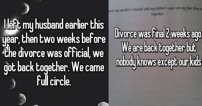 marriage cringe Awkward divorce breakup - 5990661