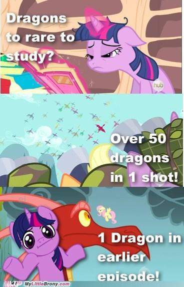 dragons i dunno lol study TV twilight sparkle - 5991358976