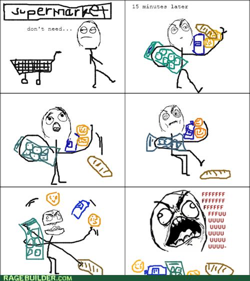 cart fu guy Rage Comics shopping - 5991837184