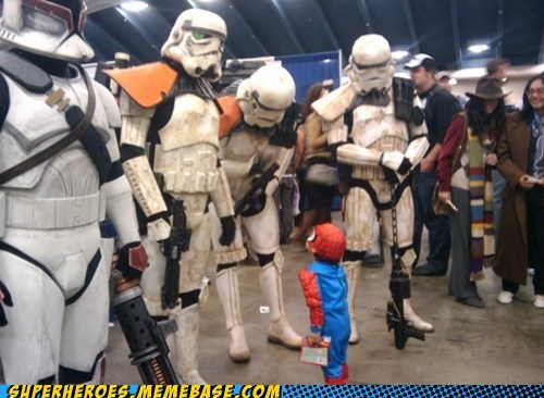 costume,cute,Spider-Man,stormtrooper,Super Costume