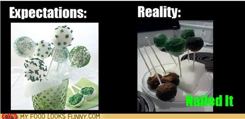 cake pops,cooking,Nailed It,ugly