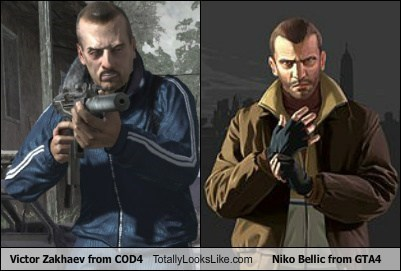 Victor Zakhaev From Cod4 Totally Looks Like Niko Bellic From