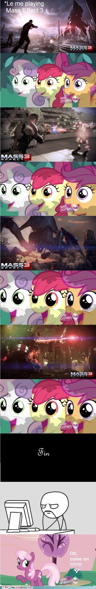 best of week cmc comics cutie mark crusaders mass effect 3 reaction
