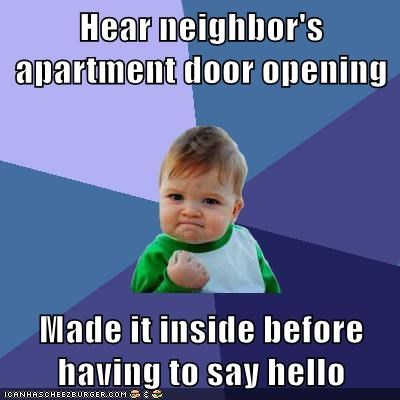 apartment,hello,neighbor,success kid
