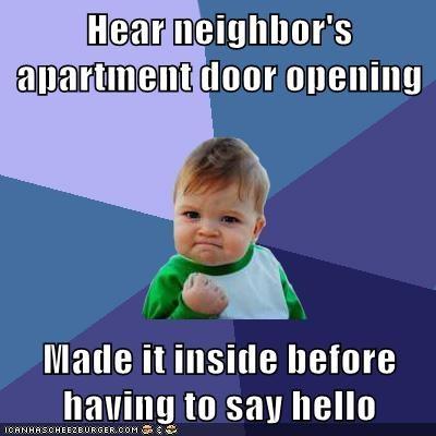 apartment hello neighbor success kid - 5994258176
