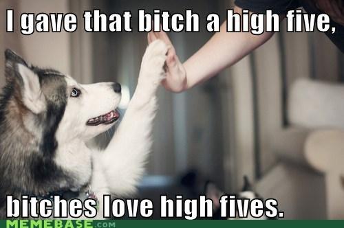 bone dogs high five Ladies Love - 5994394880