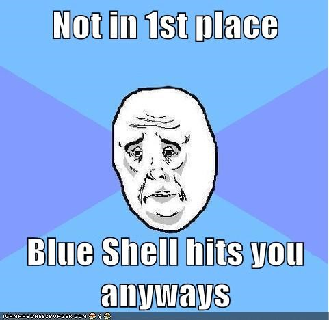 blue shell,Mario Kart,Okay,video games